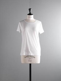 GICIPI | 1813P Bianco マーセライズクルーネックTシャツの商品画像