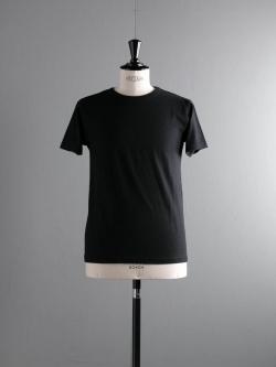 FilMelange | DIZZ Black 半袖クルーネックTシャツの商品画像