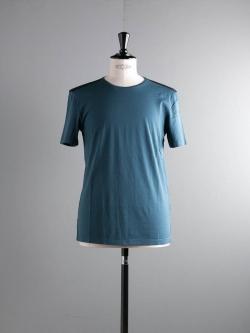 MAISON MARGIELA | S50C0430 Deep Teal ショルダーヨーク切替半袖Tシャツの商品画像