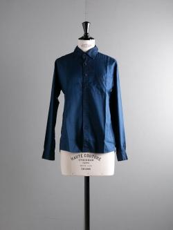 AULICO | STANDARD SHIRT Navy スタンダードシャツの商品画像