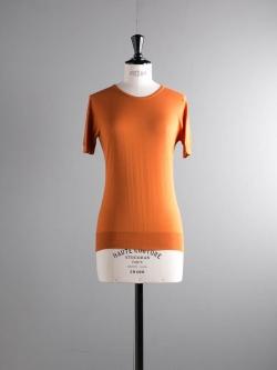 JOHN SMEDLEY | DANIELLA Mead コットン半袖クルーネックニットの商品画像