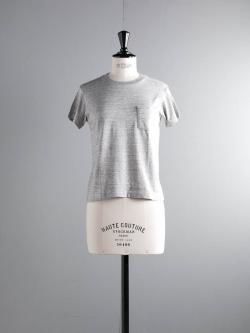 FilMelange | SUNNY GL Old Melange ニューリンダ天竺クルーネックTシャツ サニーの商品画像