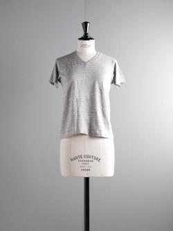 FilMelange | VICTOR GL Old Melange 半袖VネックTシャツの商品画像