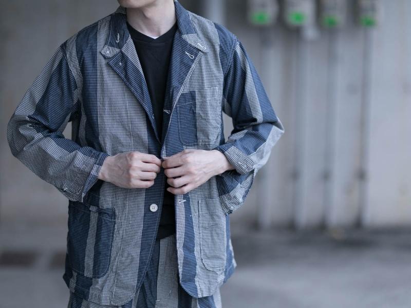 エンジニアドガーメンツのロイタージャケットの正面