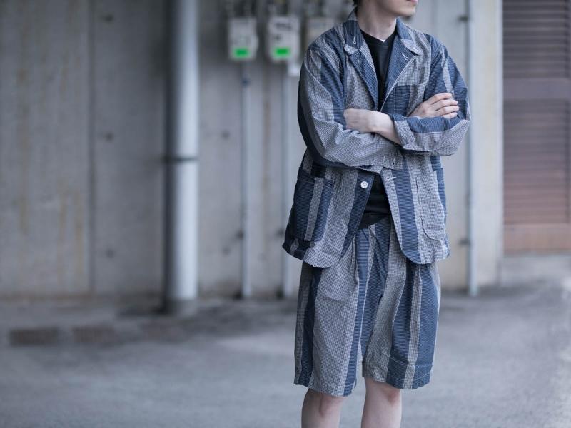 Engineered GarmentsのMINI GINGHAM BIG ST.のセットアップ
