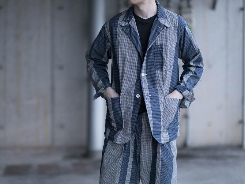 エンジニアードガーメンツのロイタージャケットの正面