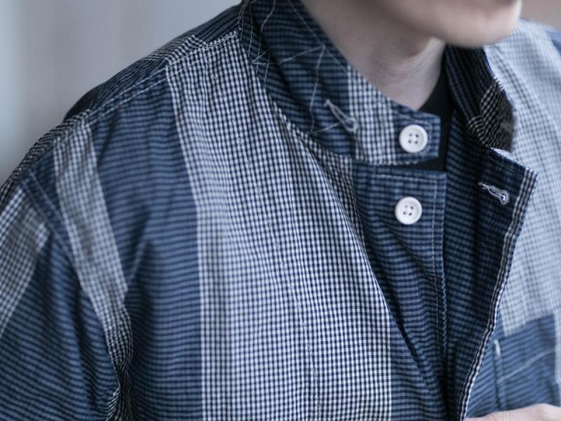 エンジニアドガーメンツのLoiter Jacketのラペル