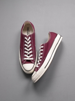 CHUCK TAYLOR ALL STAR '70 LOW TOP Dark Burgundy