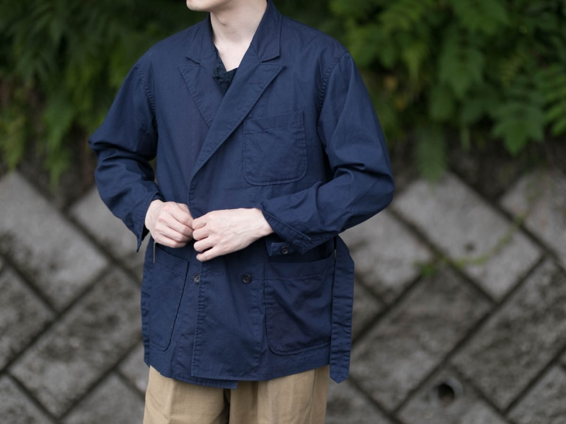 ENGINEERED GARMENTSのDL JACKETの着用写真