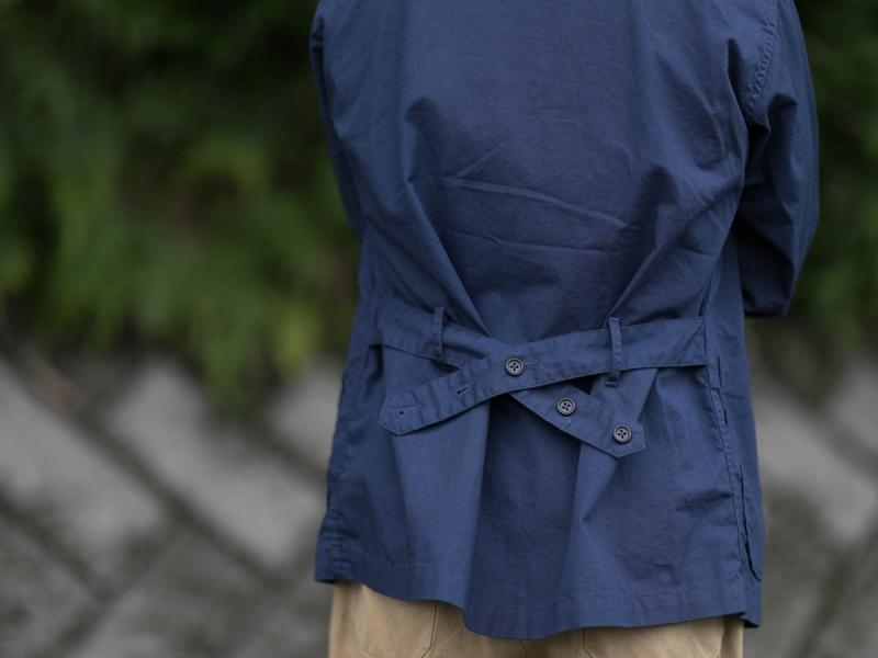 エンジニアドガーメンツのDLジャケットのアジャスター画像