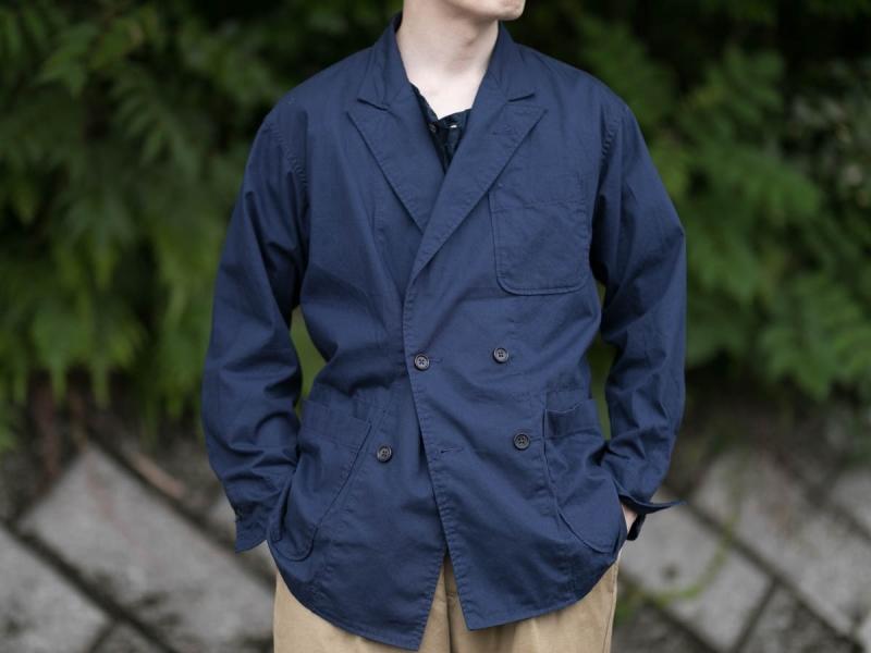 エンジニアードガーメンツのDLジャケットのウエストシェイプ