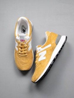 NEW BALANCE | W576YY Yellow 【MADE IN ENGLAND】の商品画像