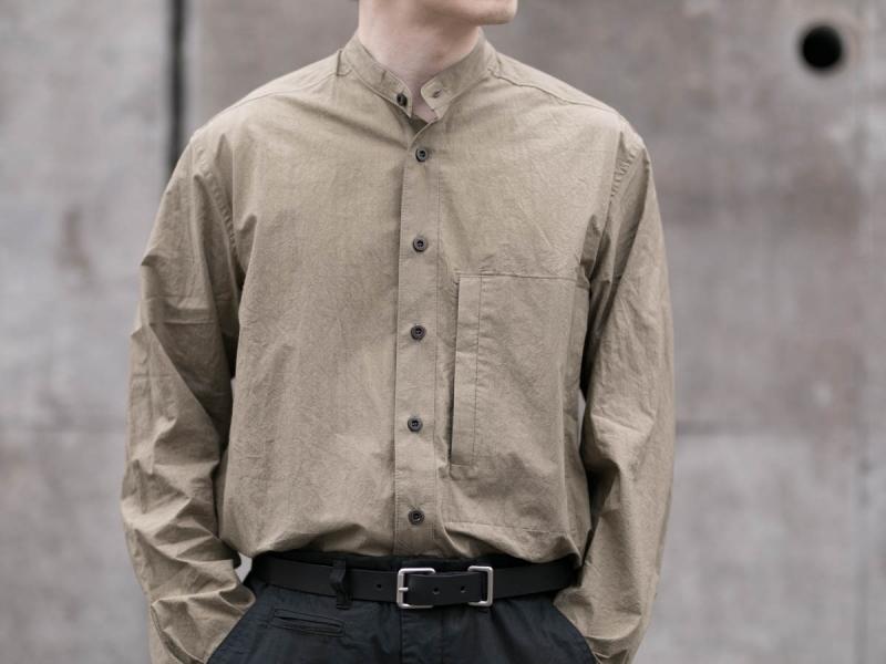 フランクリーダーのトリプルウォッシュシャツ