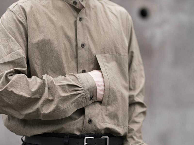 frank lederのトリプルウォッシュシャツ