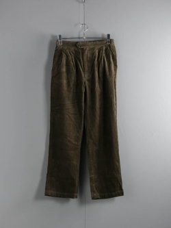 ENGINEERED GARMENTS | EMERSON PANT – 8W CORDUROY Olive エマーソンパンツ