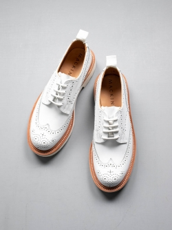 MACKINTOSH × Tricker's | LS-005 BROGUES SHOES White MACKINTOSH 別注フルブローグシューズ