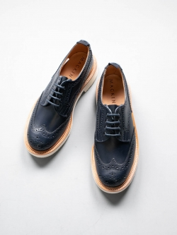 MACKINTOSH × Tricker's | LS-005 BROGUES SHOES Navy MACKINTOSH 別注フルブローグシューズ