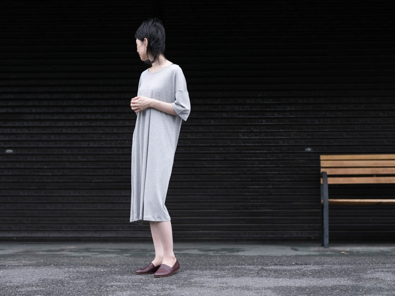 アバウトのコンフォート7ドレスのGrey Melange