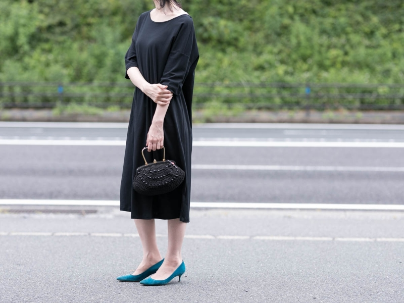 ABOUT the Sensology of WearのCOMFORT7 DressのBlack
