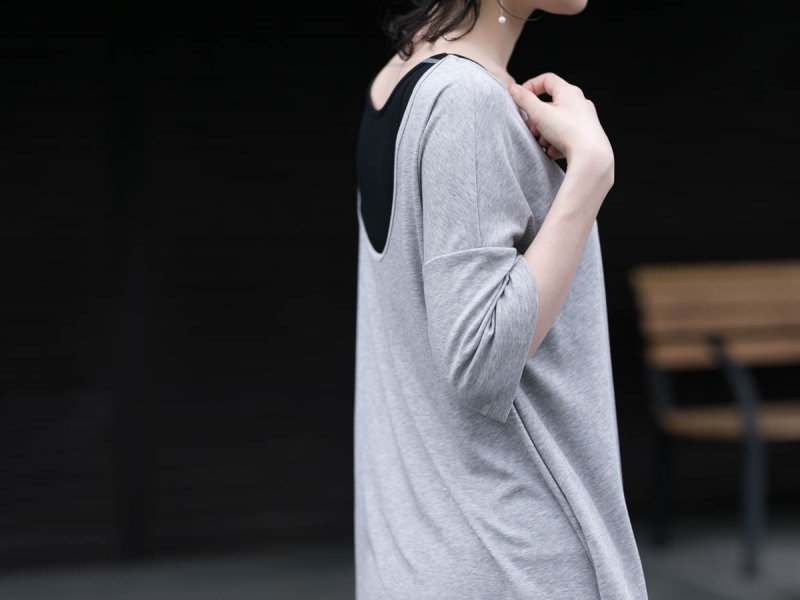 ABOUTのCOMFORT7 DressのGrey Melange