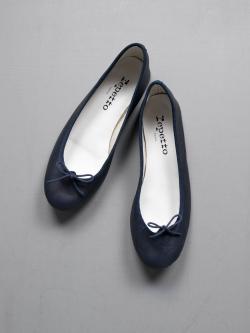 Repetto | BALLERINA CENDRILLON Classique(ネイビー) 定番バレリーナシューズの商品画像