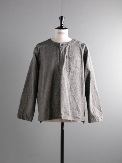 ENGINEERED GARMENTS | MED SHIRT – BRUSHED HB Grey メディカルシャツの商品画像