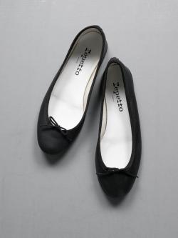Repetto | BALLERINA CENDRILLON Noir(ブラック) 定番バレリーナシューズの商品画像
