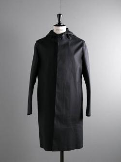MACKINTOSH | GR-007 Black フード付きコットンゴム引きコートの商品画像