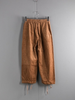 ENGINEERED GARMENTS × FWK by ENGINEERED GARMENTS | BALLOON PANT – 8W CORDUROY Chestnut バルーンパンツの商品画像