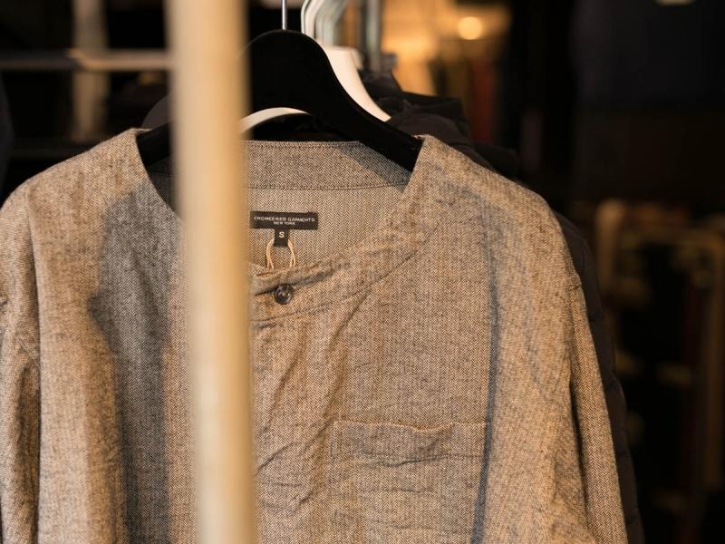 engineered garmentsのMED Shirt - Brushed HB