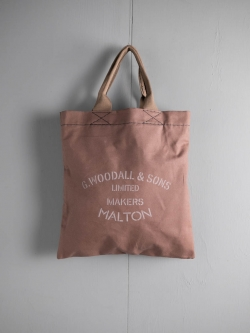 G.WOODALL&SONS | TOTE(2100) Brown マチなしトートバッグの商品画像