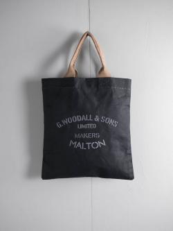 G.WOODALL&SONS | TOTE(2100) Black マチなしトートバッグの商品画像