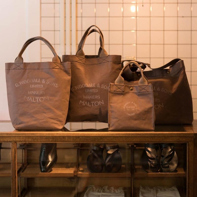 ジョージウッドオール&サンズの通販可能なバッグ4型