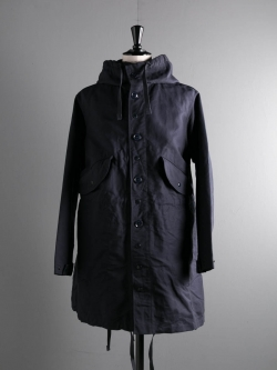 ENGINEERED GARMENTS | HIGHLAND PARKA – COTTON DOUBLE CLOTH Dk. Navy ハイランドパーカーの商品画像