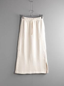 FilMelange | ARABELLA Natural 表アルパカ吊裏毛スカート アラベラの商品画像