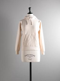 FilMelange | ANNAKIN GL Natural 空紡裏毛プルオーバーパーカの商品画像