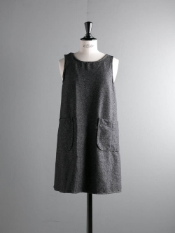 FWK by ENGINEERED GARMENTS | WRAP SMOCK – WOOL HOMESPUN Grey ラップスモックの商品画像