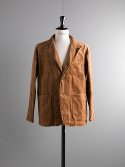 ENGINEERED GARMENTS | LOITER JACKET – 8W CORDUROY Chestnut ロイタージャケット