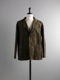 ENGINEERED GARMENTS | LOITER JACKET – 8W CORDUROY Olive ロイタージャケット