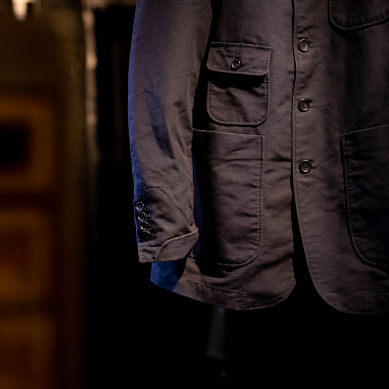 engineered garmentsのgrim jacketのnavy