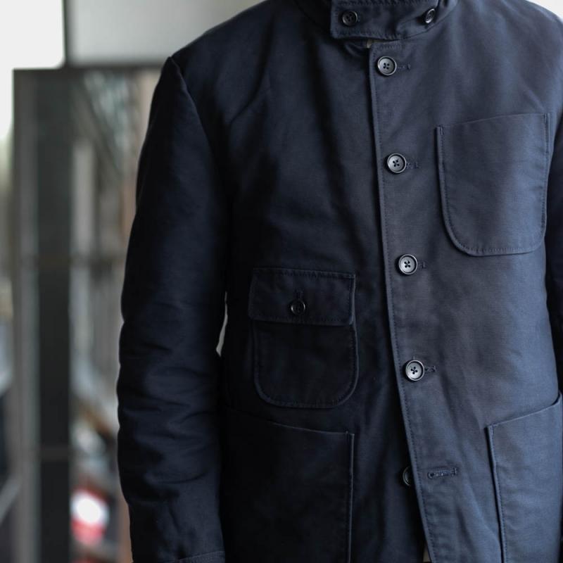 engineered garmentsのグリムジャケットのnavy