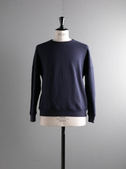 Tapia LOS ANGELES | L/S CREW NECK SHERPA FLEECE 17OZ Garment Dyed Marine 裏起毛スウェットシャツの商品画像