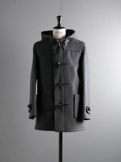 GLOVERALL | MID LENGTH DUFFLE COAT 3251DC Grey レギュラーフィットダッフルコートの商品画像