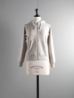 FilMelange | ASTOLEY GL Melange 空紡裏起毛スウェットパーカの商品画像