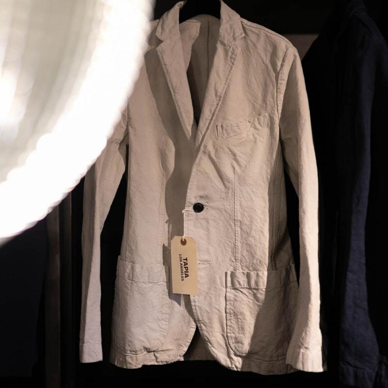 タピアロサンゼルスのアーミーダックのガーメントダイジャケット