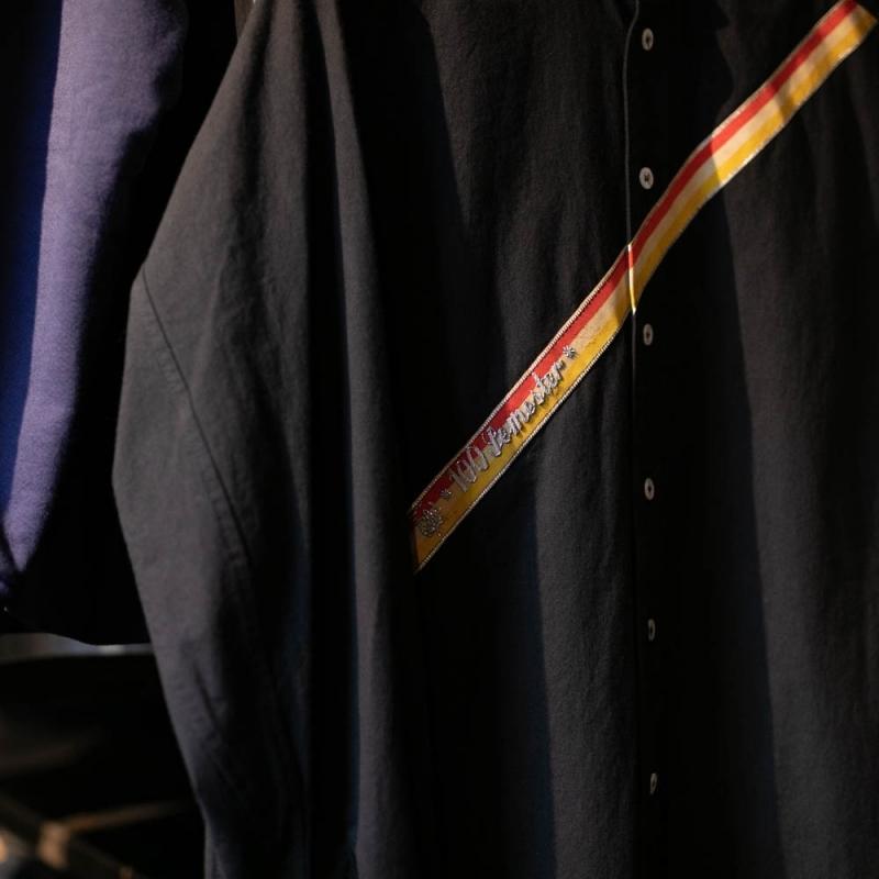 frank lederのarchivシリーズのヴィンテージテープシャツ