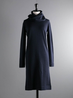 ABOUT | MEILE REVERSIBLE DRESS Navy メリノウールワンピースの商品画像