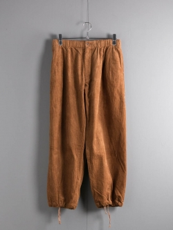 ENGINEERED GARMENTS | BALLOON PANT – 8W CORDUROY Chestnut バルーンパンツの商品画像