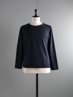 ABOUT | UNISEX MEILE REVERSIBLE SWEATER Navy リバーシブルメリノウールパイルニットソーの商品画像