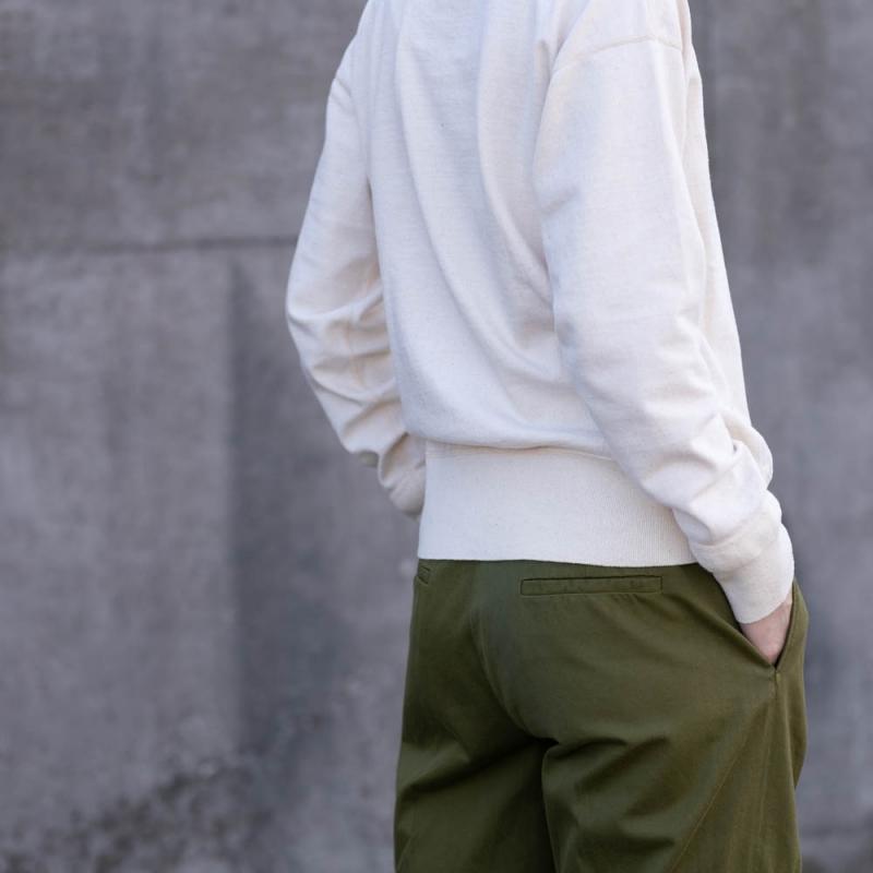 Healthknit Authenticの日本製のロングスリーブTシャツ